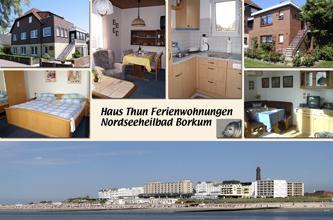 Postkarte Haus Thun